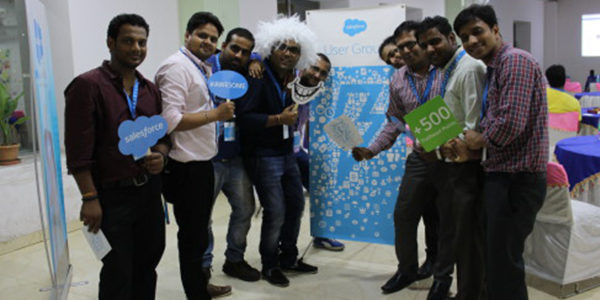 Story of First Noida User Group Event -Meet the New Salesforce