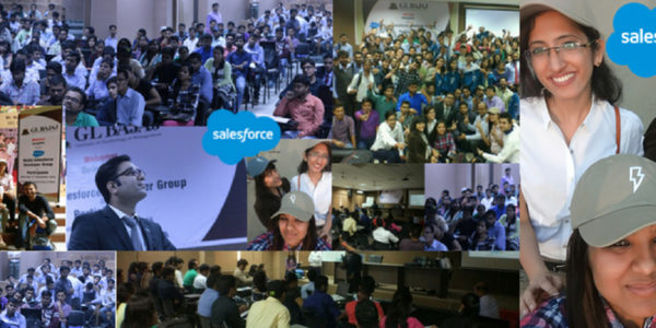 Noida Student Salesforce Developer Group event at  G.L.Bajaj Institute of Technology & Management