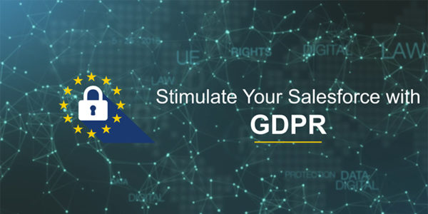 Stimulate your Salesforce with GDPR : One More Step Towards Data Privacy